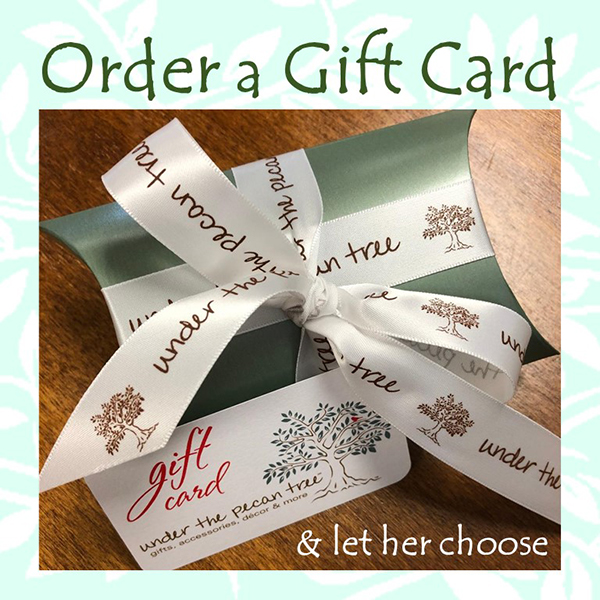 Under The Pecan Tree gift card